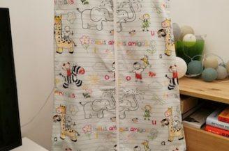 Saculet de dormit clasic (1 tog) pentru bebelusi, 18-36 luni, Babymat Handmade, model elefantei